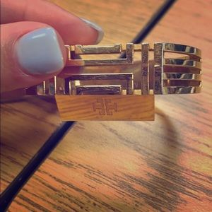 Gold Tory Burch bracelet